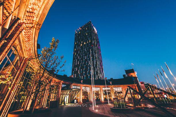 Solo Sokos Hotel Torni Tampere täyttää kolme vuotta.
