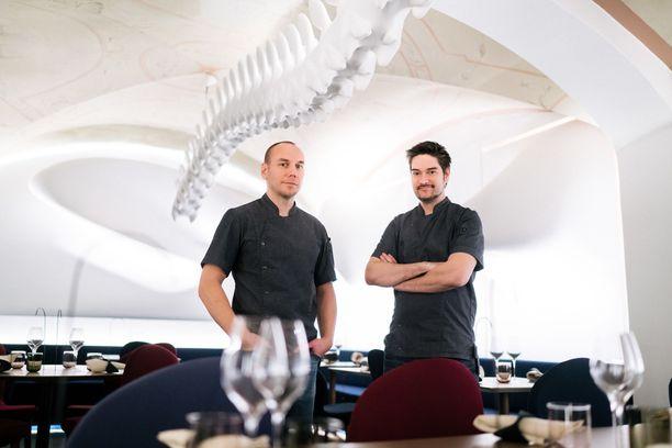 Tommi Tuominen ja Henri Alén luotsaavat ravintola Ultimaa.