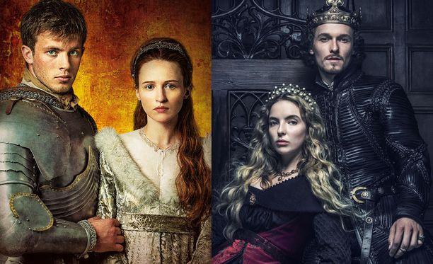 Ensin naitetaan Marie ja Maximilian, sitten Elisabeth ja Henrik VII.