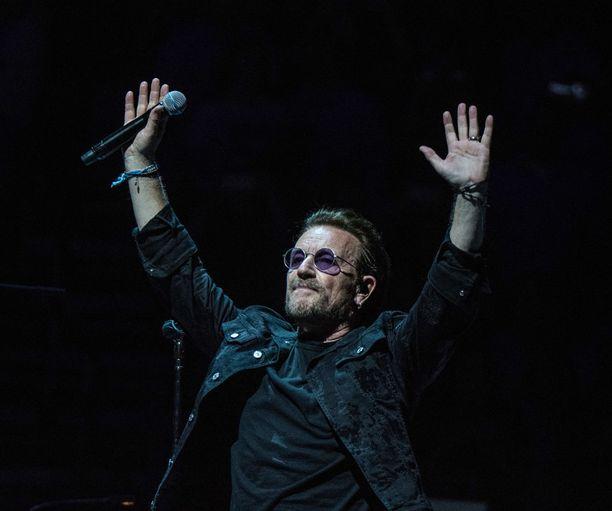 Bonon luotsaama U2 nettosi yhtyeistä eniten viime kesästä tähän kesään ulottuvalla tarkastelujaksolla.