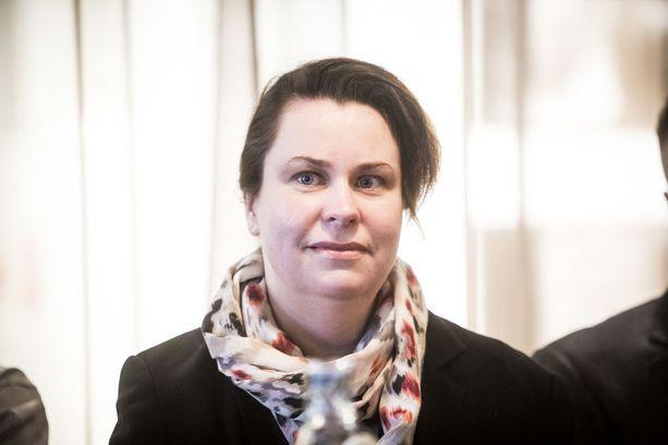 SDP:n kansanedustaja Johanna Ojala-Niemelä.