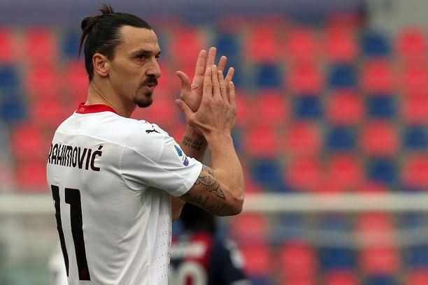 Zlatan Ibrahimovic on edelleen huippukunnossa.