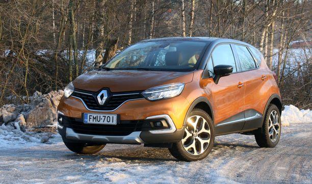 Renault Capturin keulan ilme on piristinyt muun Renault-malliston mukaiseksi.