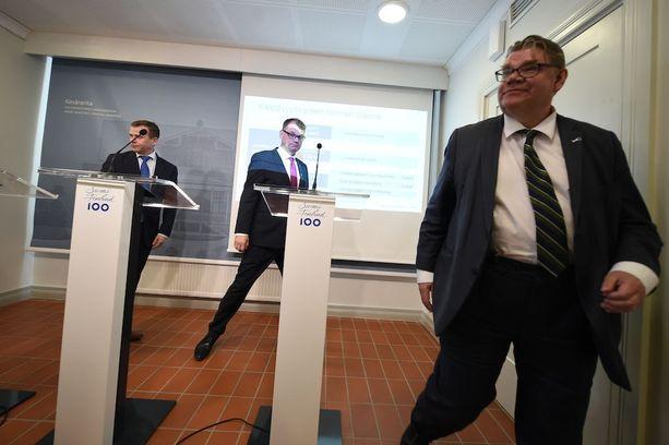 Hallitus on vakuutellut pääministeri Juha Sipilän (kesk) suulla, että hallitus on tehnyt leikkauksensa.