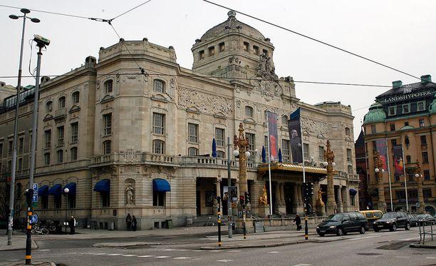 Upea Dramaten on Ruotsin kansallisteatteri.