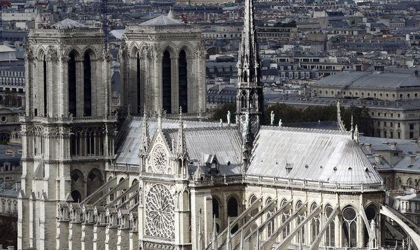 Tältä Notre Dame näytti syyskuussa 2016.