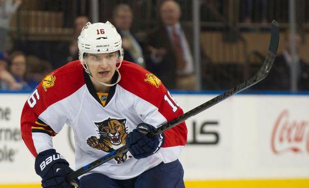 Aleksander Barkov saattaa palata tositoimiin aiemmin kuin on arvioitu.