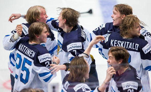 Suomi juhli viime vuonna nuorten maailmanmestaruutta.