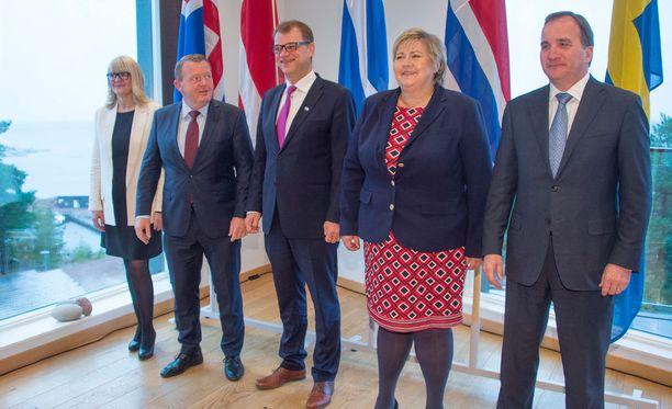 Pääministeri Juha Sipilä on kutsunut pohjoismaiset kollegansa pääministereiden vuosittaiseen epäviralliseen kokoukseen Ahvenanmaalle.