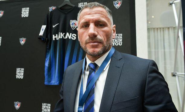 Shefki Kuqi valmensi vuoden Interiä.