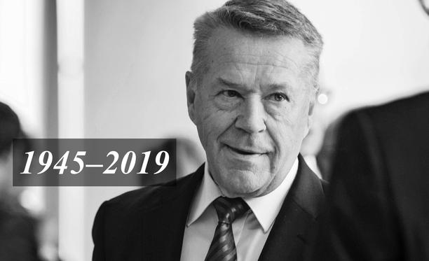 Matti Ahde toimi pitkään kansanedustajana.