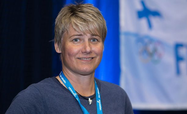Heli Rantanen voitti olympiakultaa Atlantassa 1996.