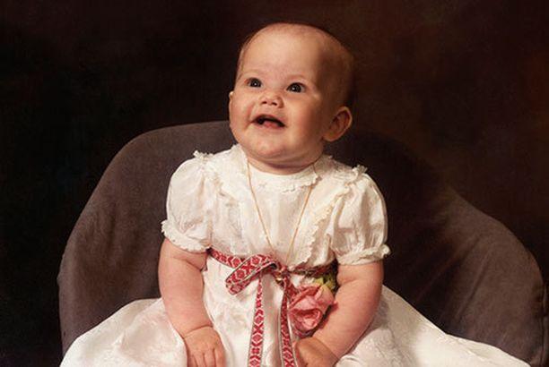 Sofia kastettiin toukokuussa 1985.
