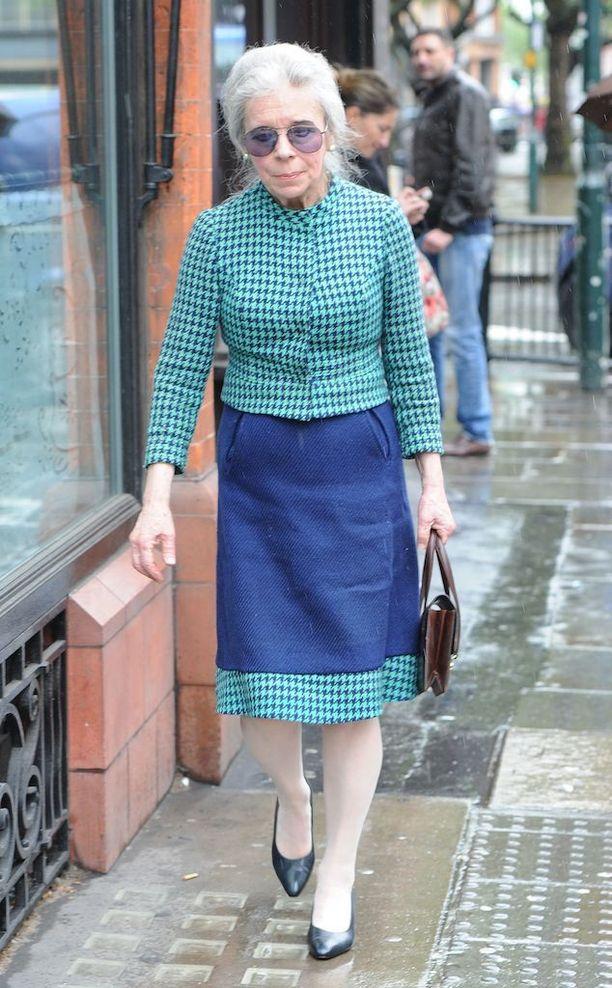 Lady Lucan vuonna 2014.