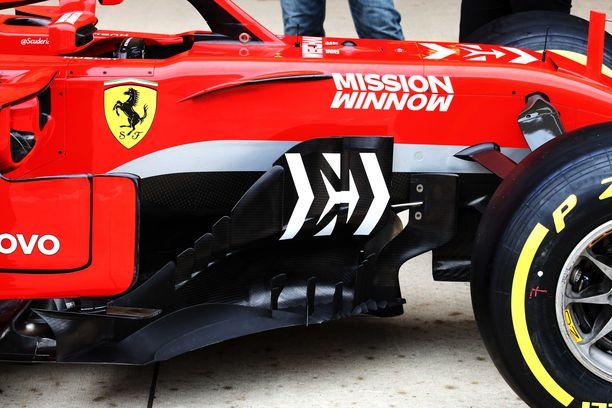 Ferrarien pohjaan on tuotu uusi ratkaisu vielä kauden loppuvaiheille.