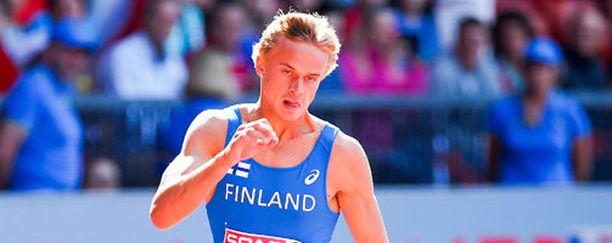 Jussi Kanervo avasi Suomen mitalitilin alle 23-vuotiaiden EM-kisoissa.