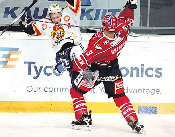 PUSU Kanadalainen Clarke Wilm ja tshekki Libor Ustmul toivat viime kaudella ulkomaista kovuutta SM-liigaan.