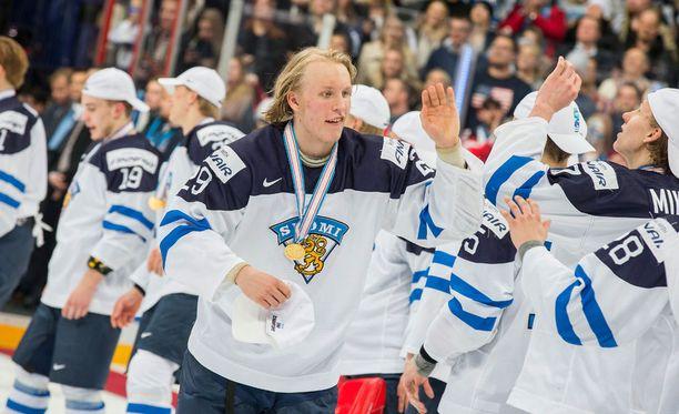Patrik Laine on sijalla kaksi Sportsnetin tammikuun varausrankingissa.