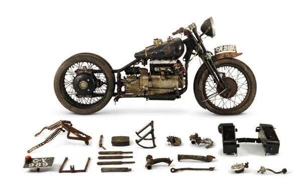 The ex- Hubert Chantrey, 1938 Brough Superior 750cc BS4, 110 000 - 170 000 euroa