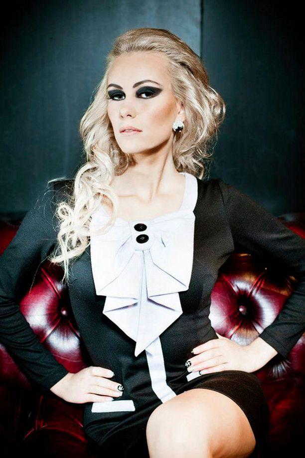 Virossa syntynyt suomalainen Kristina valittiin Miss Viroksi.