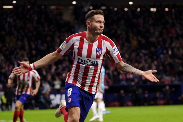 Saúl uskoo, että Atlético voi murtaa Liverpoolin keskikentän prässin.