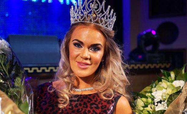 Rosanna Kulju on tuore Miss Helsinki 2015.