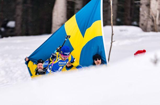 Ruotsin ampumahiihdolla menee loistavasti.