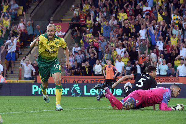 Norwich Cityn ykköshyökkääjä Teemu Pukki on korvaamattoman tärkeä joukkueelleen.