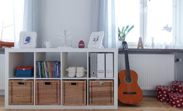 Pelkästään raivaamalla ja huonekalujen järjestystä muuttamalla koti voi saada kokonaan uuden ilmeen.