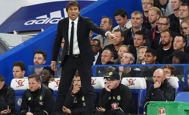 Antonio Conten katseessa on vihaa.