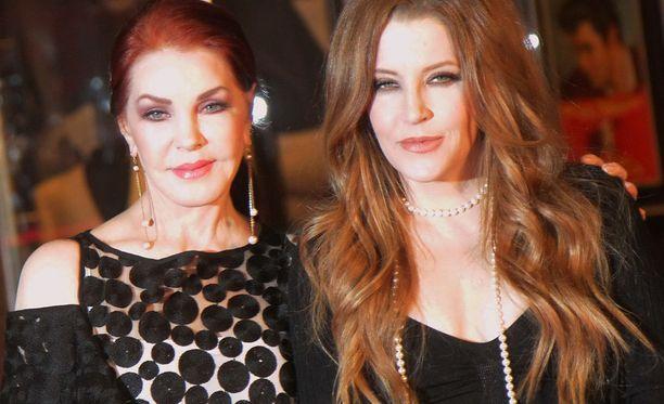 Priscilla ja Elvis Presley saivat yhden tyttären. Lisa Marie syntyi vuonna 1968.