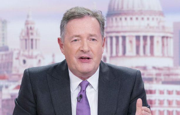 Piers Morgan oli kuusi vuotta aamuohjelman juontaja.