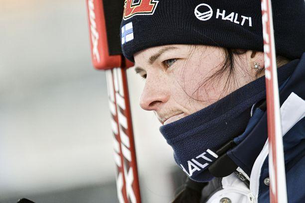 Krista Pärmäkoski hiihti marraskuun lopussa Rukalla sijat 32 ja 33.