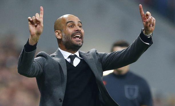 Pep Guardiola ei jatka Bayernissa.