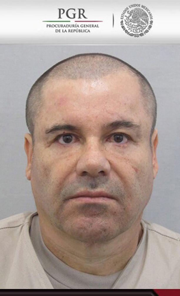 """Joaquin """"El Chapo"""" Guzman pakeni jälleen. Hänestä on luvassa massiivinen löytöpalkkio."""