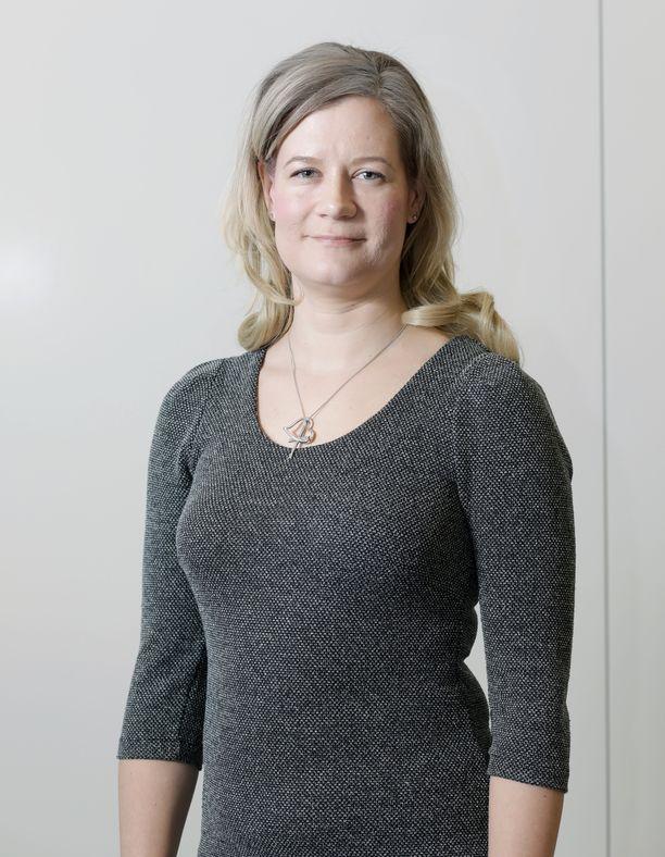 Alma Median Yhdysvaltain-kirjeenvaihtaja Hellevi Mauno.