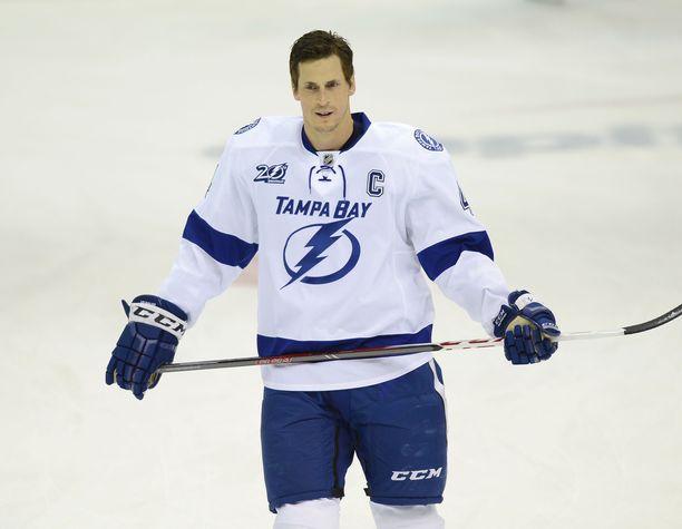 Vincent Lecavalier pelasi NHL:ssä 17 kautta ja voitti Stanley Cupin 2004.