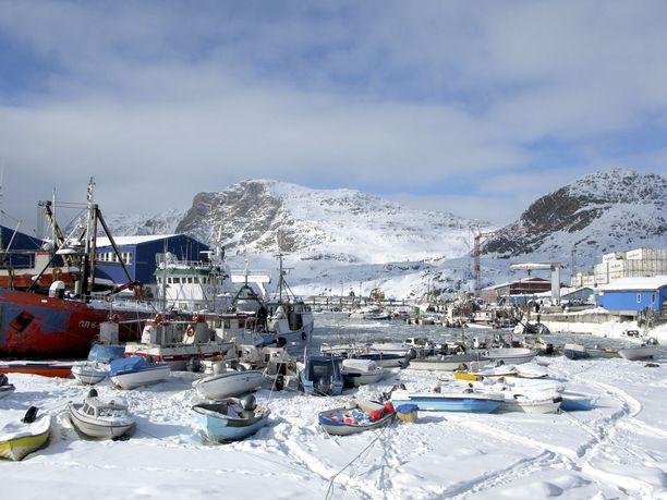 Grönlannin Nuuk on vielä kylmempi pääkaupunki kuin Helsinki.