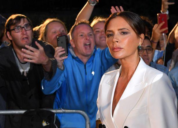 Victoria Beckham pitää raajansa vetreinä.