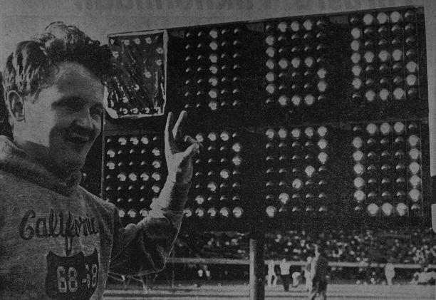 ME-mies. Jorma Kinnunen nakkasi Tampereella 1969 keihäänheiton maailmanennätyksen 92,70.