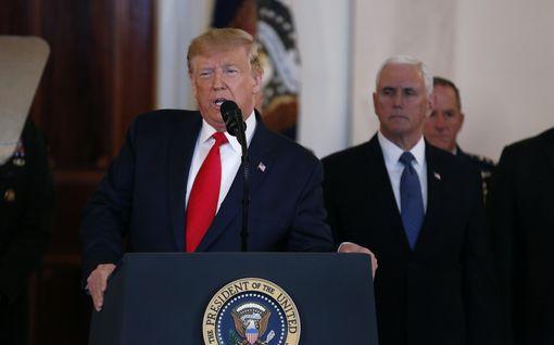 """Näin Trumpin tyyni Iran-puhe otettiin vastaan: """"Täysimittainen sota tällä kertaa vältetty"""""""