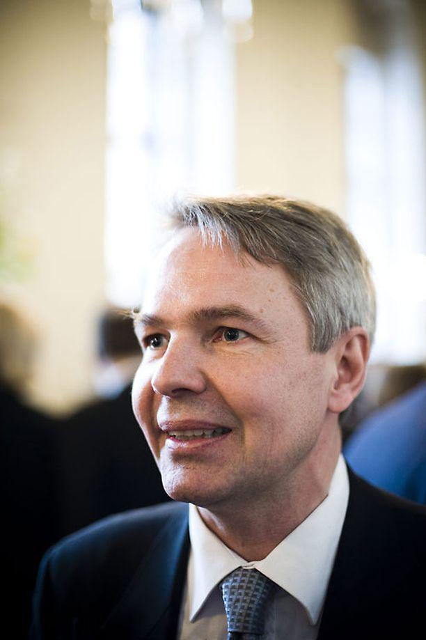 Pekka Haavisto kannattaa EU:n pakolaiskäytäntöjen yhtenäistämistä.