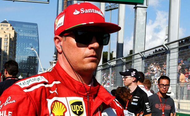 Kimi Räikkönen lähtee huomiseen kisaan kolmosruudusta.