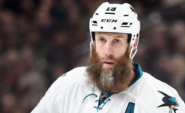 Joe Thornton on toiseksi tehokkaine NHL-aktiivi.