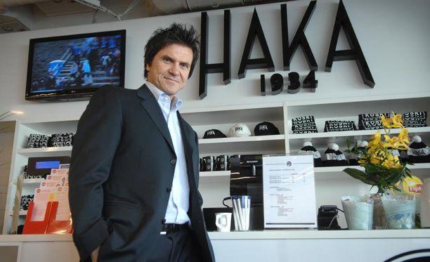 Sedu Koskinen vaikutti Hakassa 2008-2010.