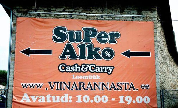 SuperAlko ei saa markkinoida tuotteitaan Suomessa.