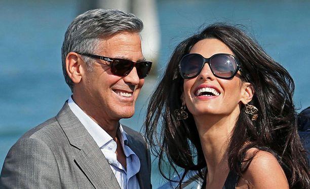George Clooney ja Amal ALamuddin vihitään piakkoin.
