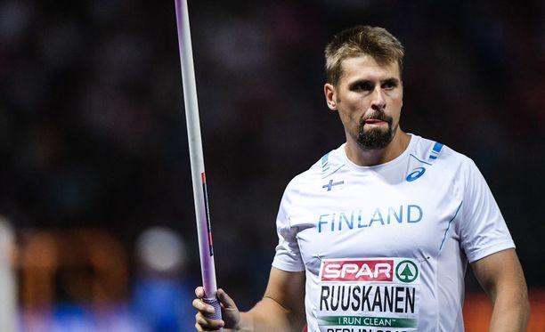 Antti Ruuskanen oli keihäsfinaalissa tyylikkäästi kuudes, mutta paljon jäi jossiteltavaa.