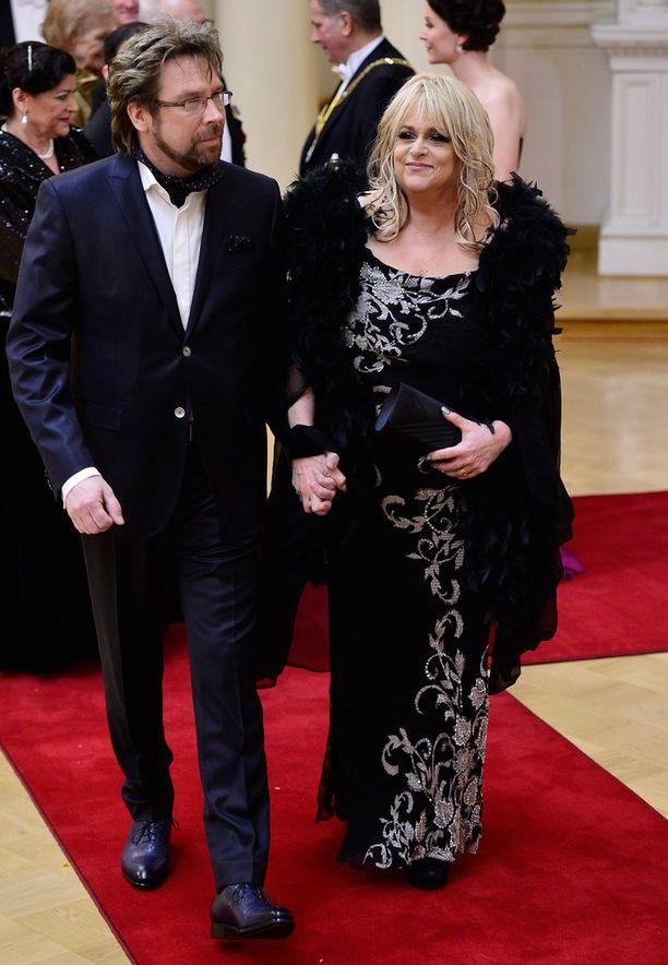 Kalel Munck juhlii vaimonsa Marion Rungin kanssa sekä tänään että huomenna.