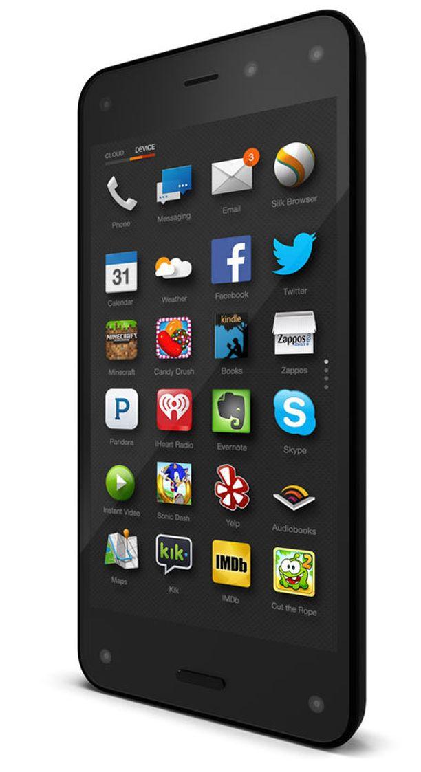 Amazonin puhelin toimii Android-käyttöjärjestelmällä.